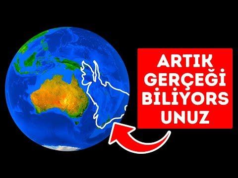 Dünya'da Gizli Bir Kıta Keşfedildi