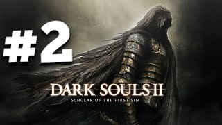 Dark Souls 2  PS4 #2 - How to NOT Cheese Dragonrider boss!