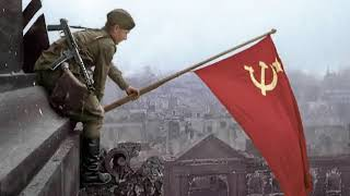 Red Rose Russia! Red Army was organized at October Revolution! Red Army archived world peace in 1945