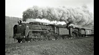 Rail Archives:C62重連 (C622+C6215)104レ 上目名151キロポスト付近 1971年5月3日撮影