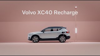 [오피셜] XC40 Recharge. Now fully electric.