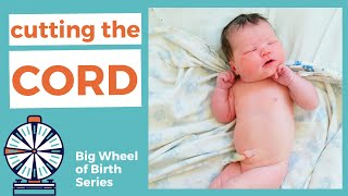 CUTTING THE BABY'S CORD: When to cut the umbilical cord, how to cut the umbilical cord