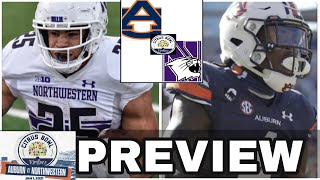 Auburn in trouble versus Northwestern?| 2020 Citrus Bowl Preview