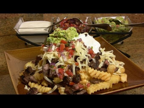 Super Bowl Recipe: Carne Asada Fries Recipe  Cooking With Carolyn
