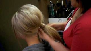 How To:  Simple Updo (long Hair)