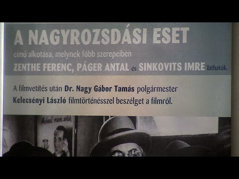Filmvetítés a Tabánban - A nagyrozsdási eset - video preview image