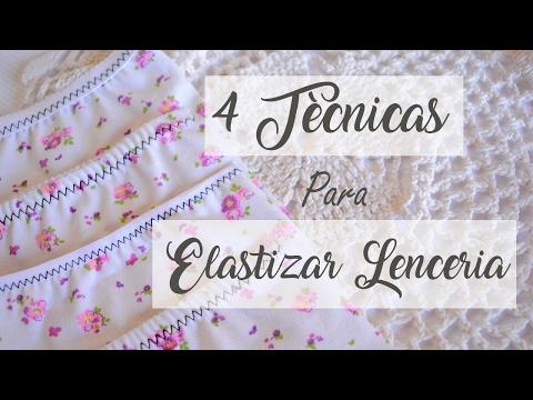 Tècnicas de elastizado para lenceria -El Taller de Mariette-