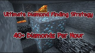 Minecraft | Most EFFICIENT Way to find Diamonds