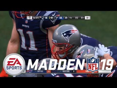 Madden NFL 19 PS4 Career Mode - So CLOSE!!