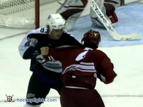 Keith Ballard vs. Vincent Lecavalier