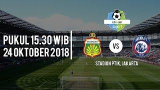 Live Streaming Vidio.com Bhayangkara FC Vs Arema FC, Rabu (24/11/2018) pukul 15.30 WIB