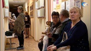 Пожилые люди со всего Валдайского района смогли бесплатно пройти разностороннее обследование