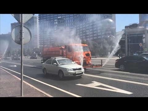 «Στο κόκκινο» ο υδράργυρος στη Μόσχα