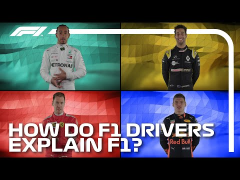 How Do F1 Drivers Explain F1?