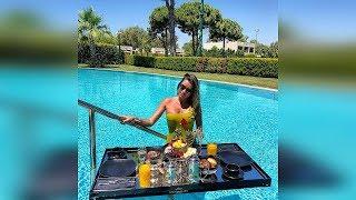 Бородина завтрак на на воде🌹😍лучший отель в Турции