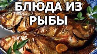 Блюда из рыбы. Простые рецепты!
