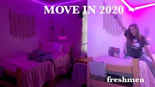 College Move In Vlog 2020 +dorm Tour