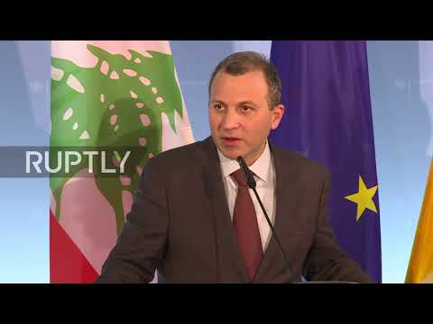 Germany: 'Lebanon is not a toy in others' hands' - Lebanese FM meets Gabriel in Berlin