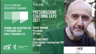 Youtube: Presentazione Coaching Expo 2021 | ICF Italia | evento digitale, marzo 2021