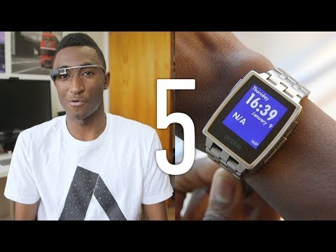 Top 5 Wearable Tech of 2014