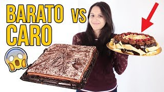 Tarta de chocolate BARATA vs CARA ¿Merece LA PENA?