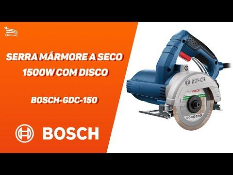 Serra Mármore a Seco 1500W  com Disco  - Video