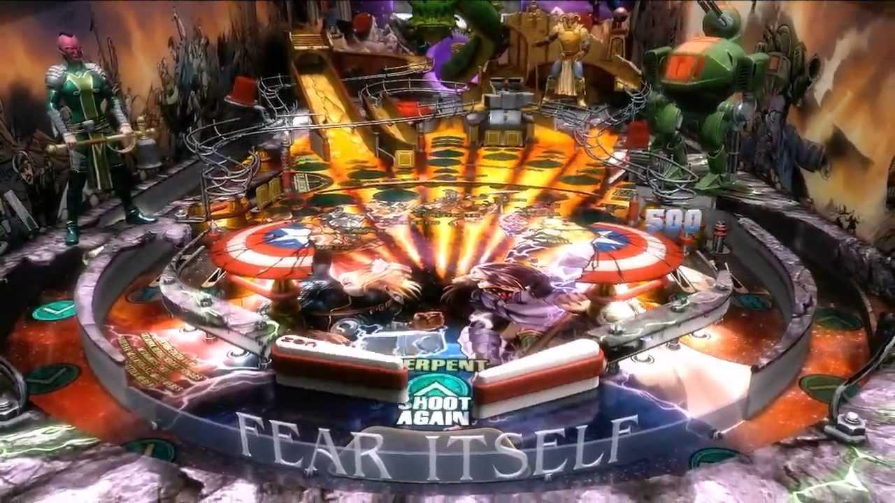Marvel Pinball: Avengers Chronicles Hits PSN Tomorrow