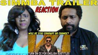 SIMMBA TRAILER REACTION!