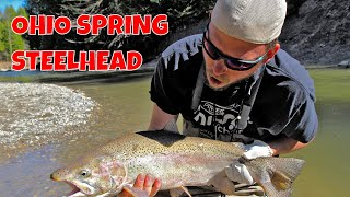 Ohio Spring Steelhead Fishing