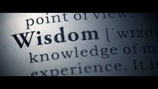 WISDOM THE PRINCIPAL THING(GMSMenOfValour12)