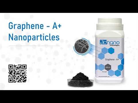 Graphene A+, Graphene Flakes, Ultra Pure Graphene, 99 % Purity, AD-Nano Graphene, ADGA+