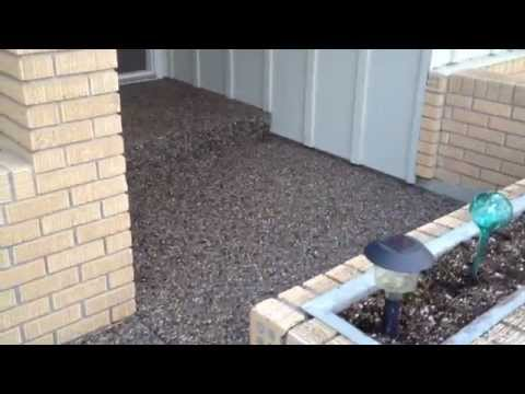 Exposed Aggregate project - Walkway and Steps by CI