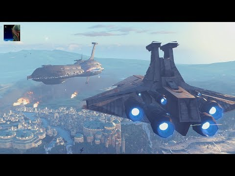 Star Wars Battlefront II - Naboo Capital Supremacy Gameplay (No Commentary)