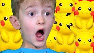 Давид Против Покемонов!!! Приключения на Детской Площадке David on the playground
