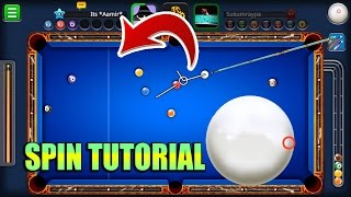 8 Ball Pool SPIN TUTORIAL- How To Use Spin [THIS WILL CHANGE THE WAY YOU PLAY]
