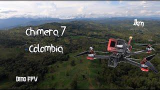 """Chimera 7"""" LR FPV Maiden Flight - Colombia"""