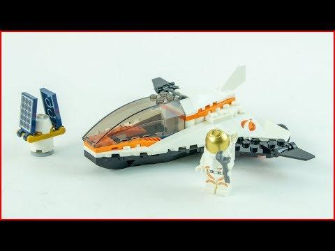 Vidéo LEGO City 60224 : La mission d'entretien du satellite