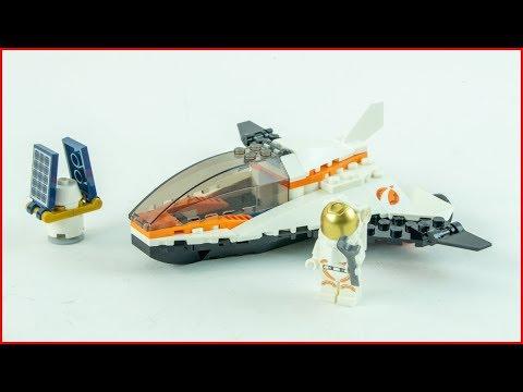 LEGO CITY 60224 Satellite Service Mission Construction Toy   UNBOXING