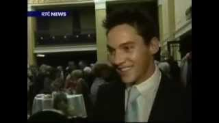 Джонатан Рис-Майерс, 	 Jonathan Rhys Meyers - Cork Civic Reception News Article on RTÉ Ten.wmv