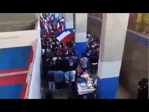 """""""La 12 Tricolor (Carlos Manucci) Previa en el Tunel 2017"""" Barra: La 12 Tricolor • Club: C.A. Mannucci"""