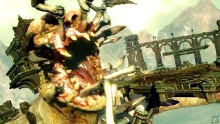 GOD OF WAR - AEGAEON the HECATONCHIRES Dead Giant Boss Fight | God of War Ascension