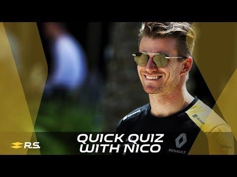 Quick Quiz with Nico Hülkenberg