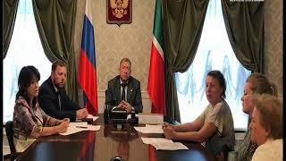 Руководитель УправленияРосприроднадзора по РТ провел прием граждан в Казани
