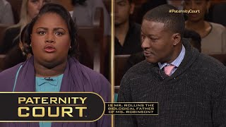 """Man Says """"1000% Sure"""" He's Not the Father (Full Episode)   Paternity Court"""