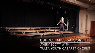Bui Doi, Avery Scott & Tulsa Youth Cabaret Chorus