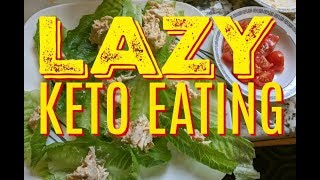 Lazy Keto What I Eat In A Day 🔴 Easy Keto Food LCHF Eating 🔴