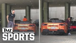 Ben Simmons Hops Out the Ferrari with Tinashe | TMZ Sports - Video Youtube