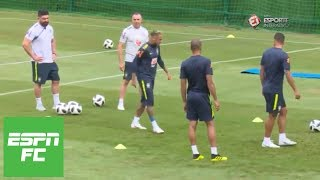 Neymar leaves practice early as injury looms over Brazil's World Cup match vs. Costa Rica   ESPN FC