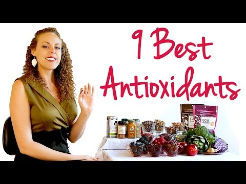 , title : '9 Best Antioxidant Foods! Red Wine for Anti Aging? Healthy Eating Tips for Weight Loss & Energy'