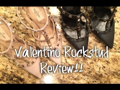 Valentino Rockstuds Review!!